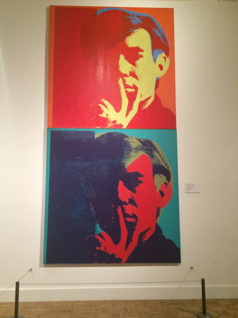 andy warhol self portrait DIA
