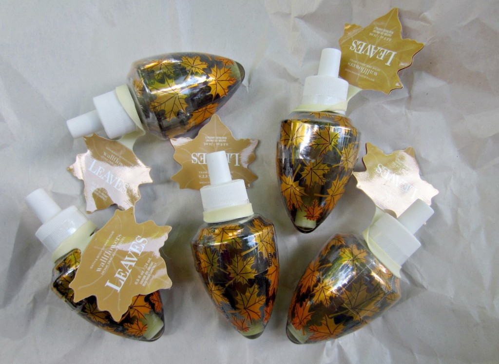 bath and body works wallflowers leaves