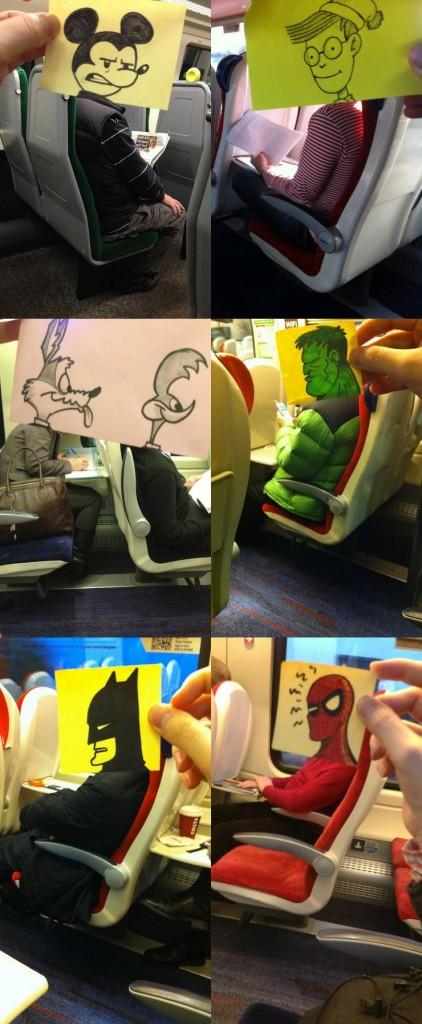funny doodles artist
