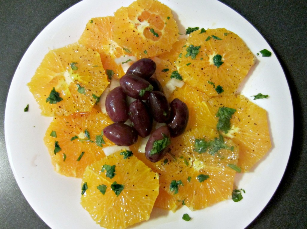 navel orange salad appetizer