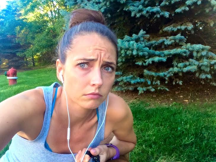 running problems bug in eye