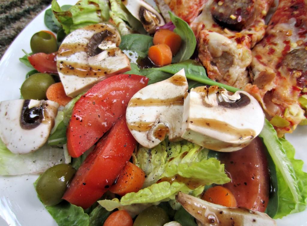side vegetable salad