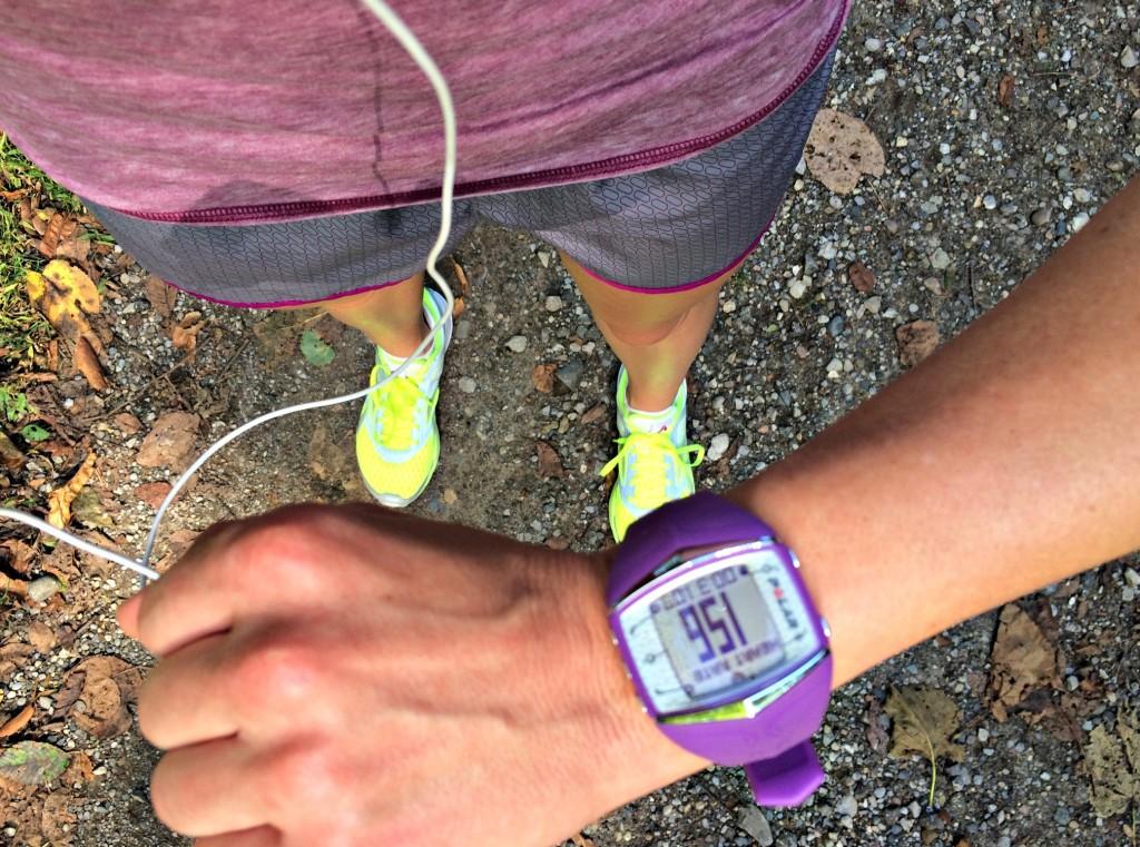 tempo run tracking