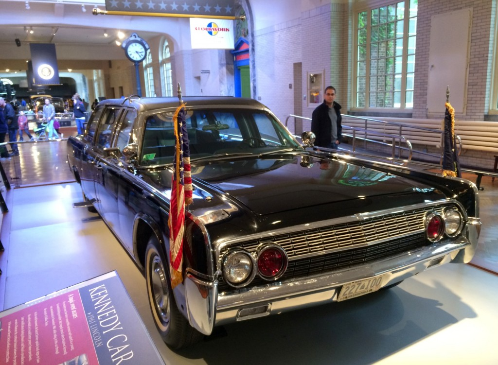 1961 Lincoln Kennedy Car