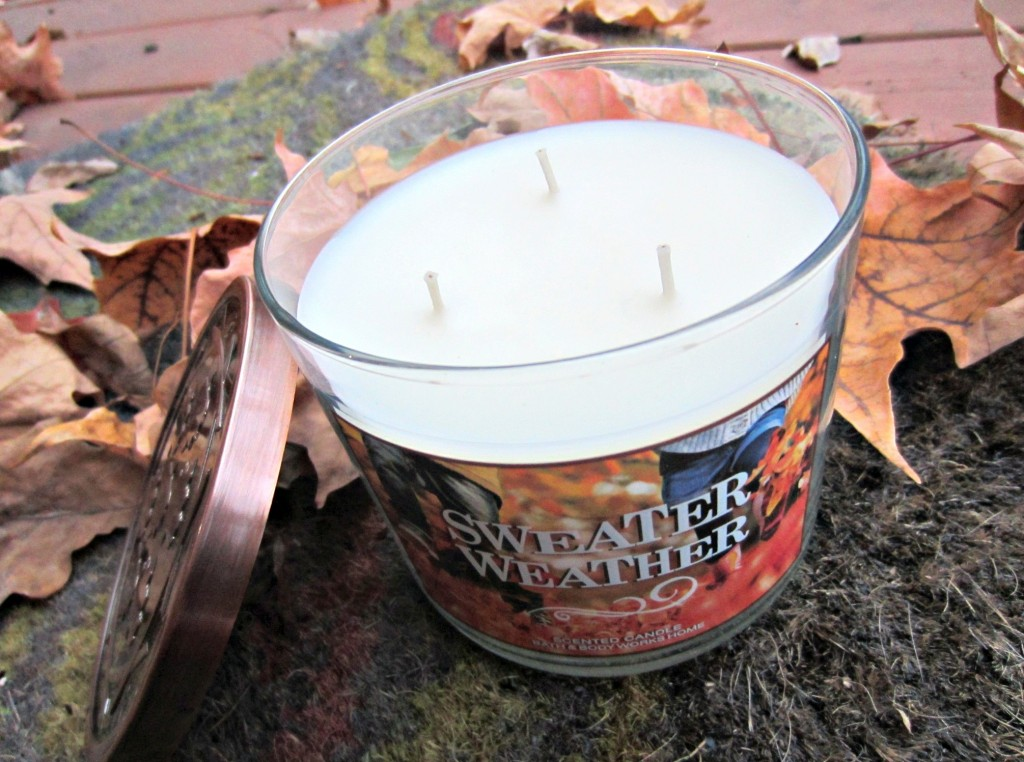 Bath and Body Works Fall Candle Sweater Weather