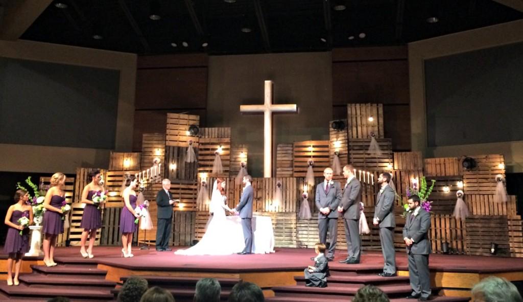 Bub and Ashley's Wedding Ceremony