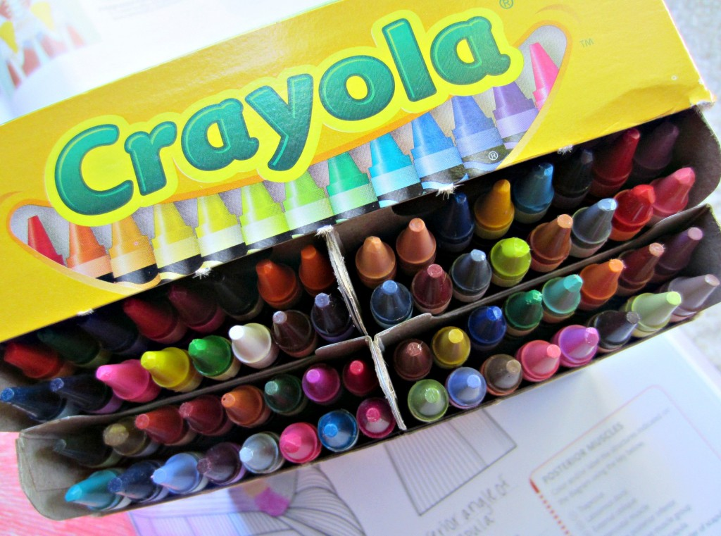 Crayola 64 pack of crayons