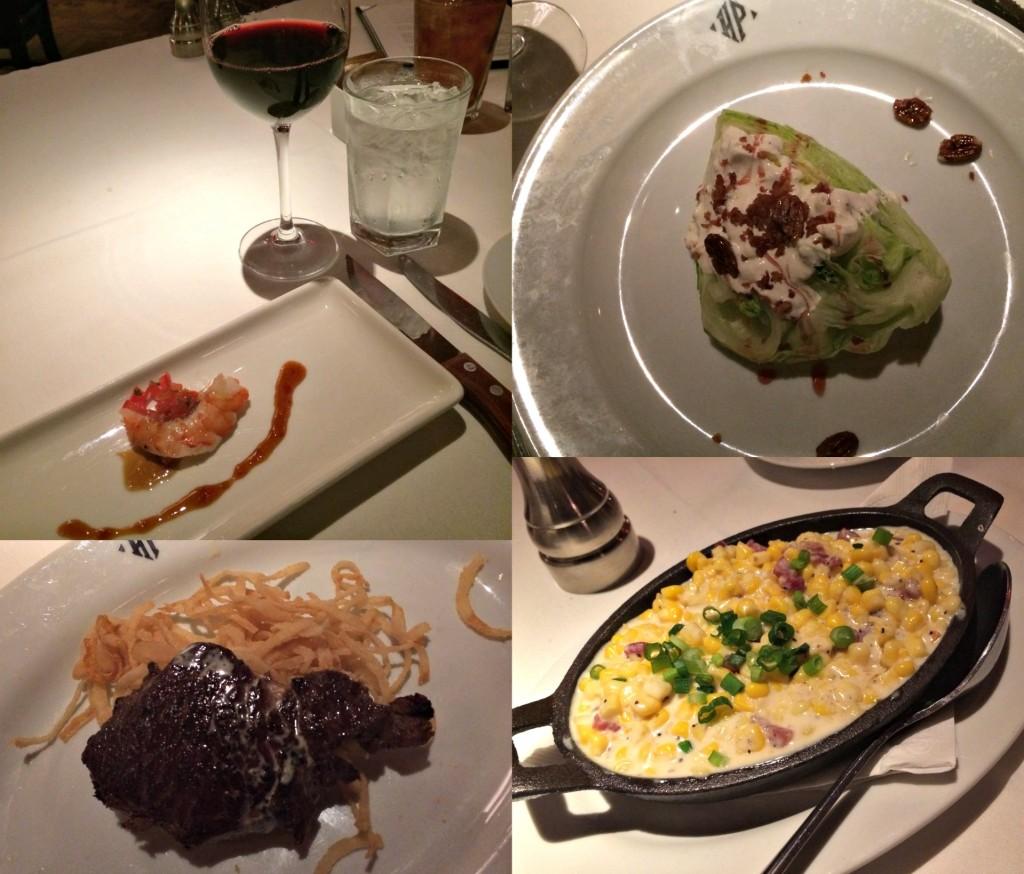 Dinner at Hyde Park Steakhouse