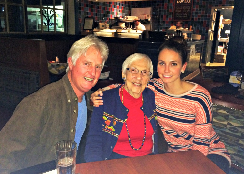 Dinner with Dad and Grandma at Mitchell's Fist Market