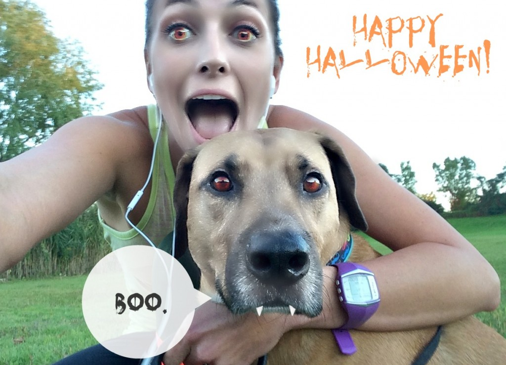 Happy Halloween Vampires with Roadie