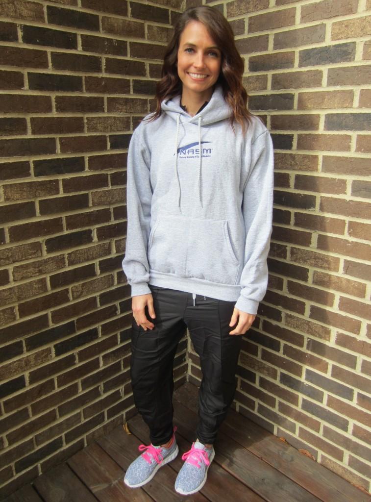 Heather Hesington CPT NASM hoodie