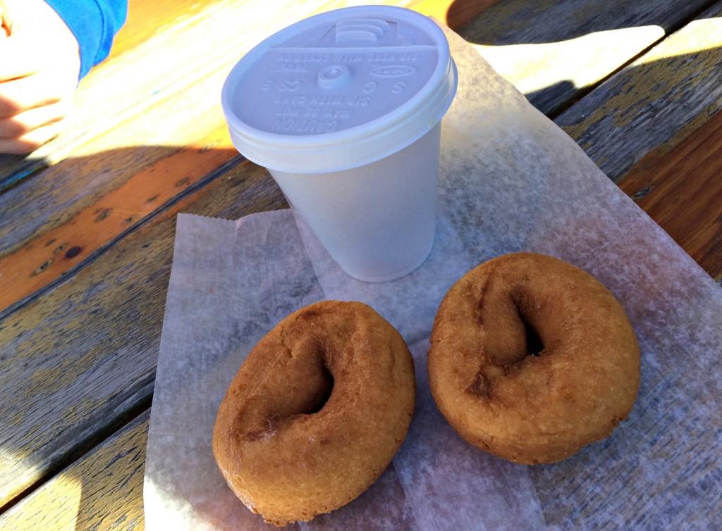 Miller's Big Red Donuts naked