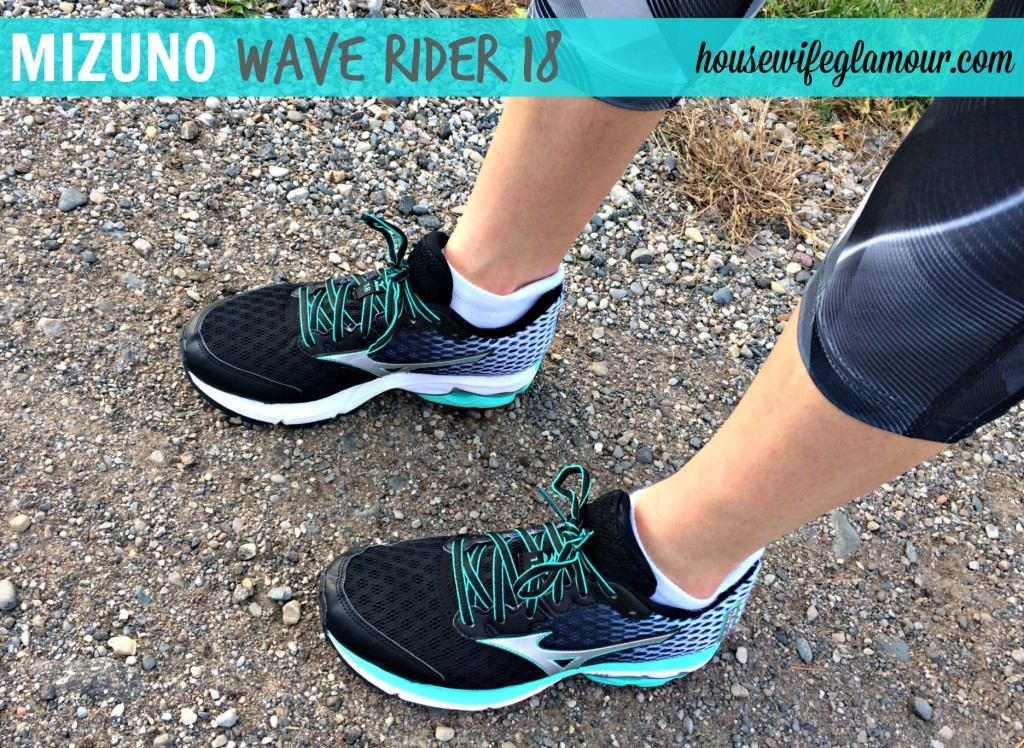 Mizuno Wave Rider 18 shoe review