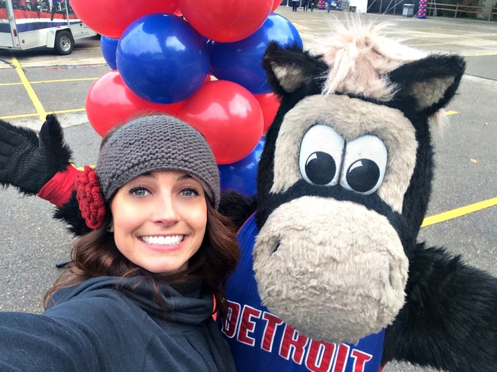 Pistons 5K with HOOPER