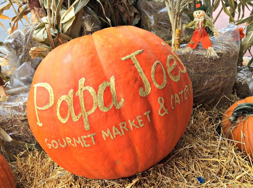 Papa Joe's market pumpkin