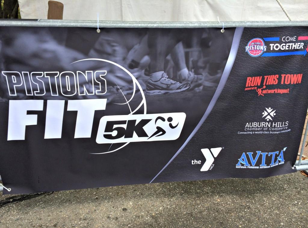 Pistons Fit 5k 2014