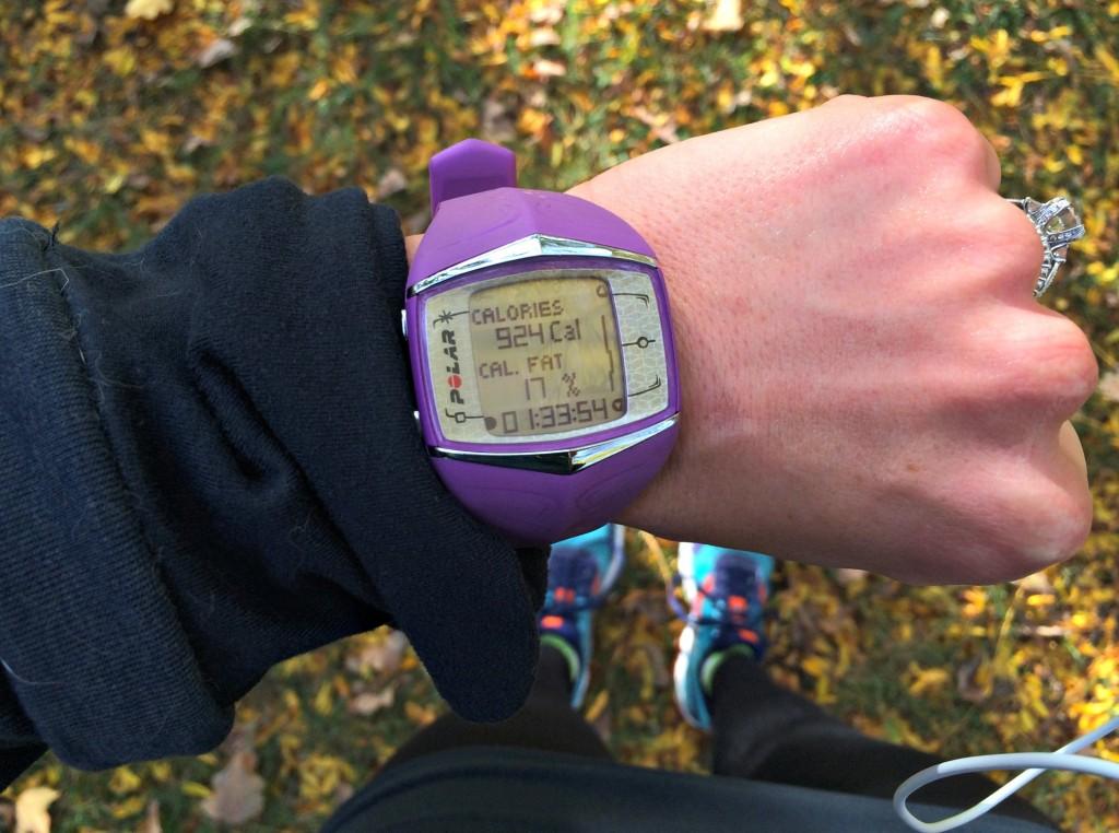 Polar FT60 after 10 mile run