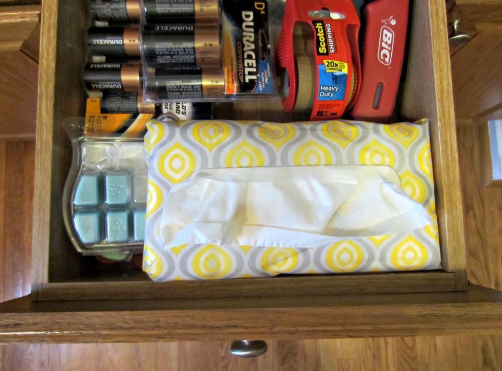 Puffs SoftPack in kitchen