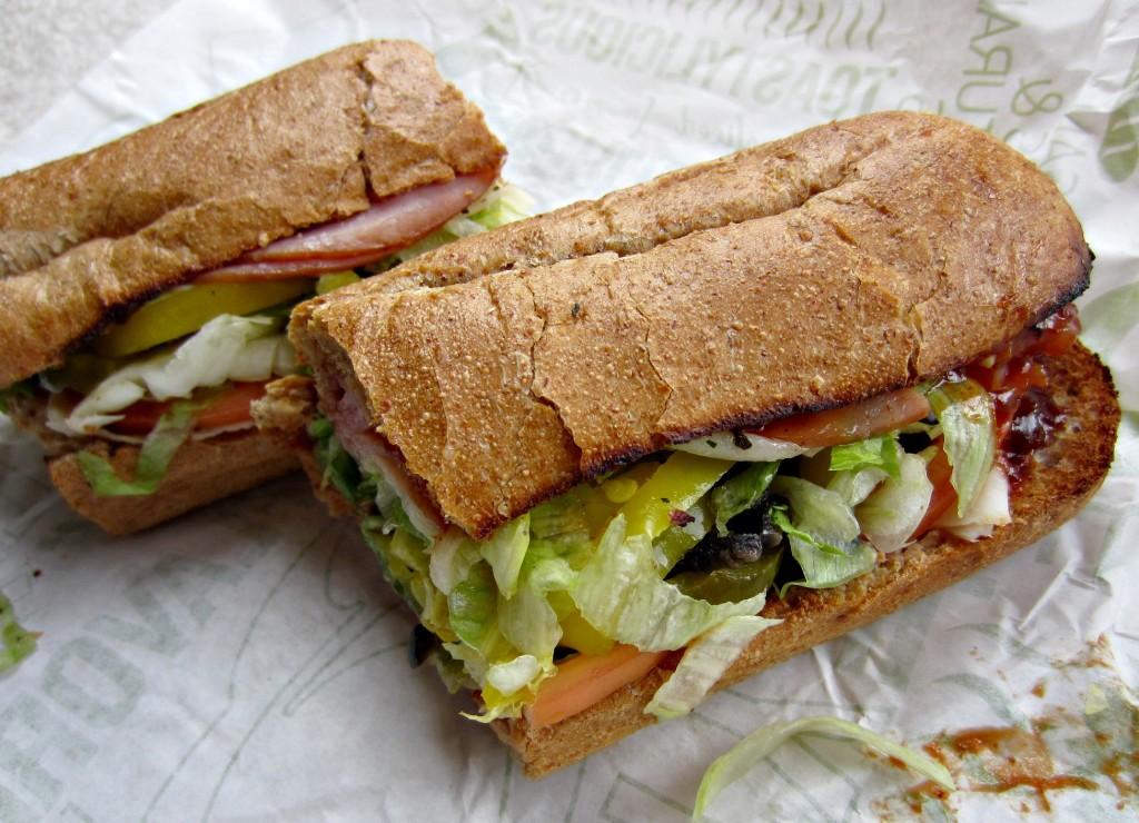 Quiznos Spicy Monterey Sandwich