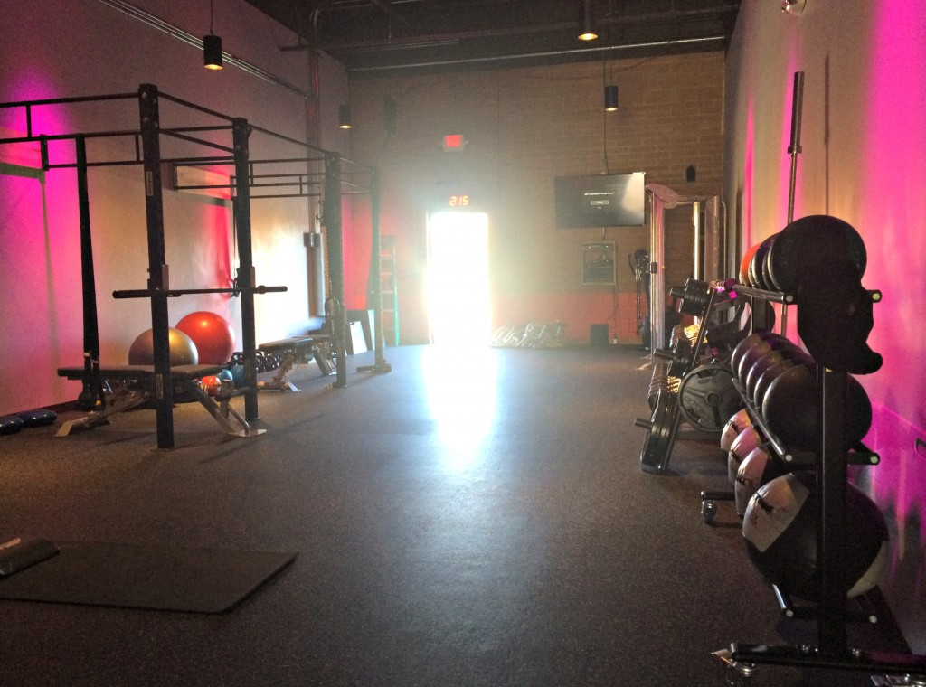 Rock City Fitness main gym
