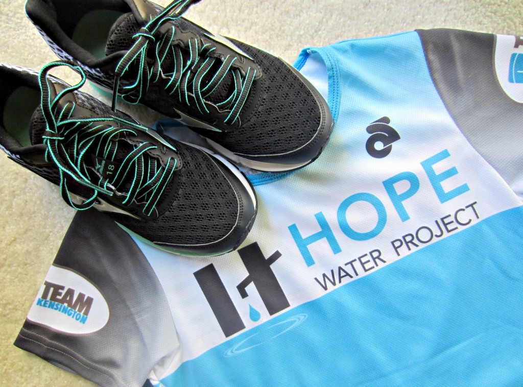 Run With Purpose Hope Water Project jersey