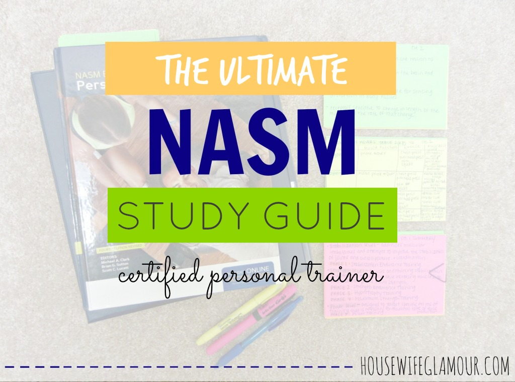 The Ultimate NASM CPT Study Guide