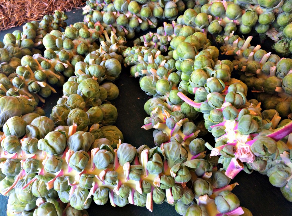 brussels sprouts farmers market