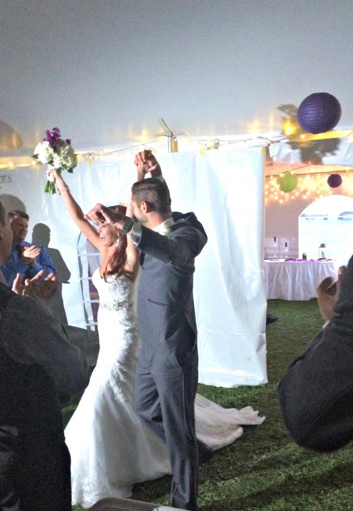 bub and ashley wedding intro
