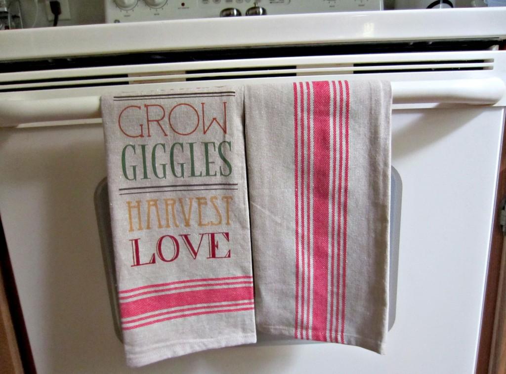 fall dishtowels from tjmaxx