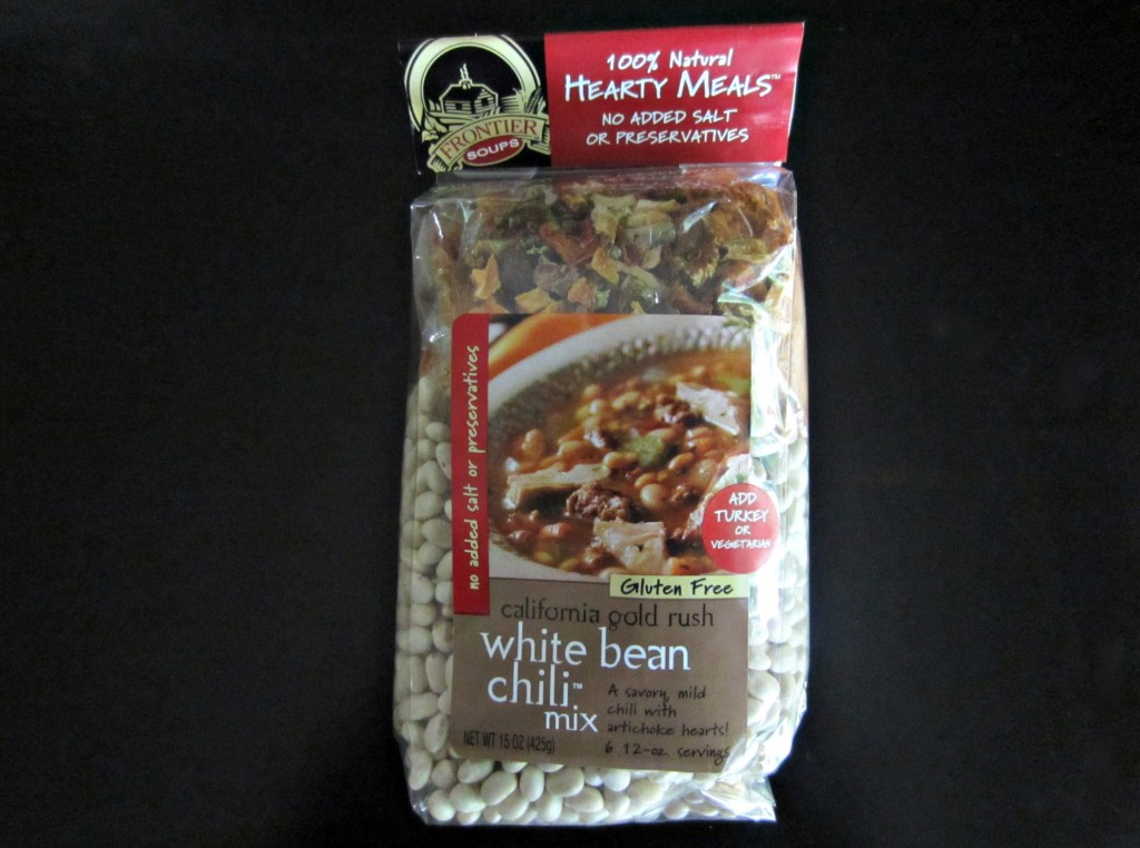 frontier soups white bean chili mix