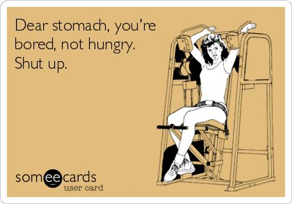 funny healthy living someecard