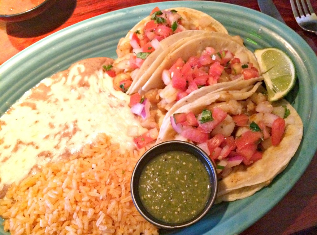 sagebrush cantina shrimp tacos
