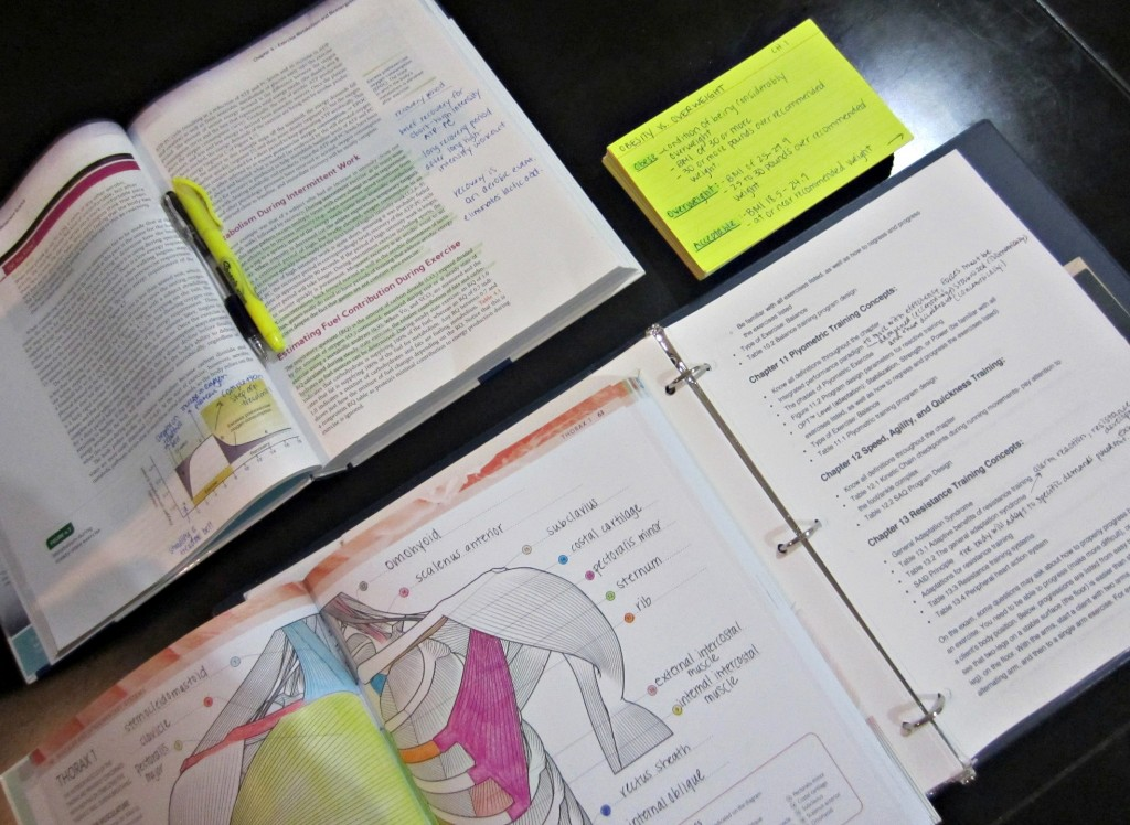 study materials for nasm cpt