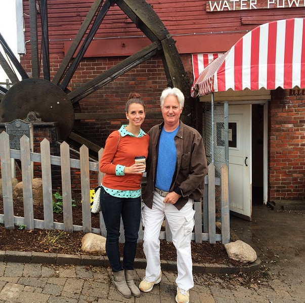 visit to yates cider mill with dad
