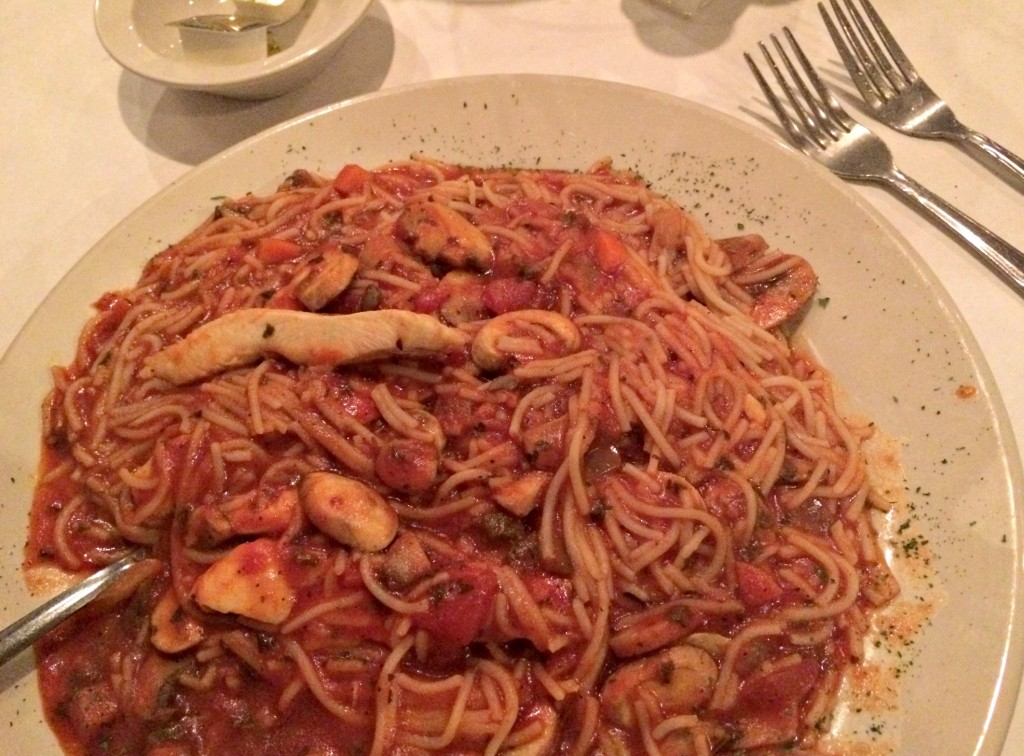 Alfoccino's Italian Restaurant make your own pasta