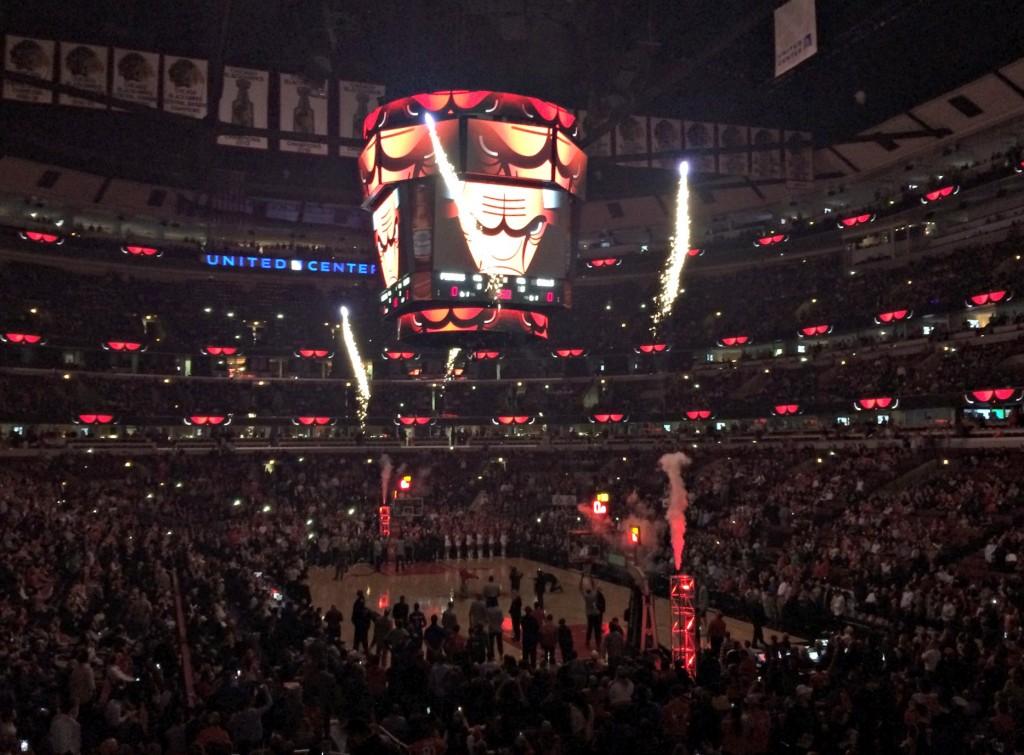 Chicago Bulls game intro