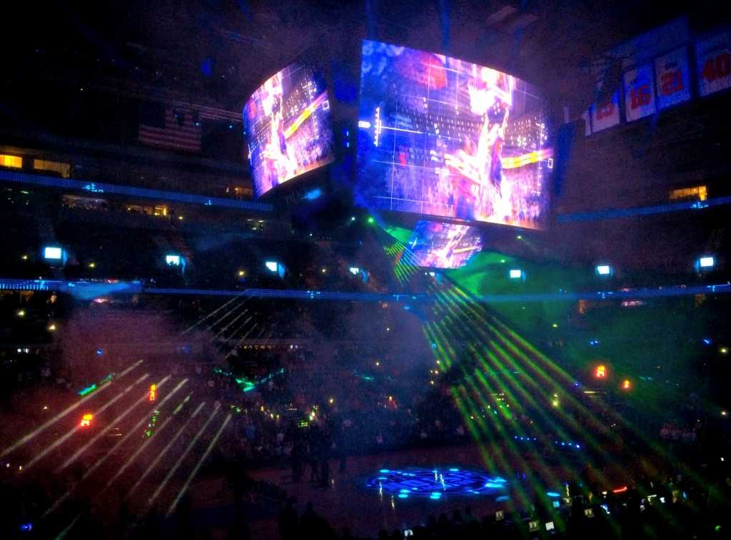 Detroit Pistons Opening Night intros 2014