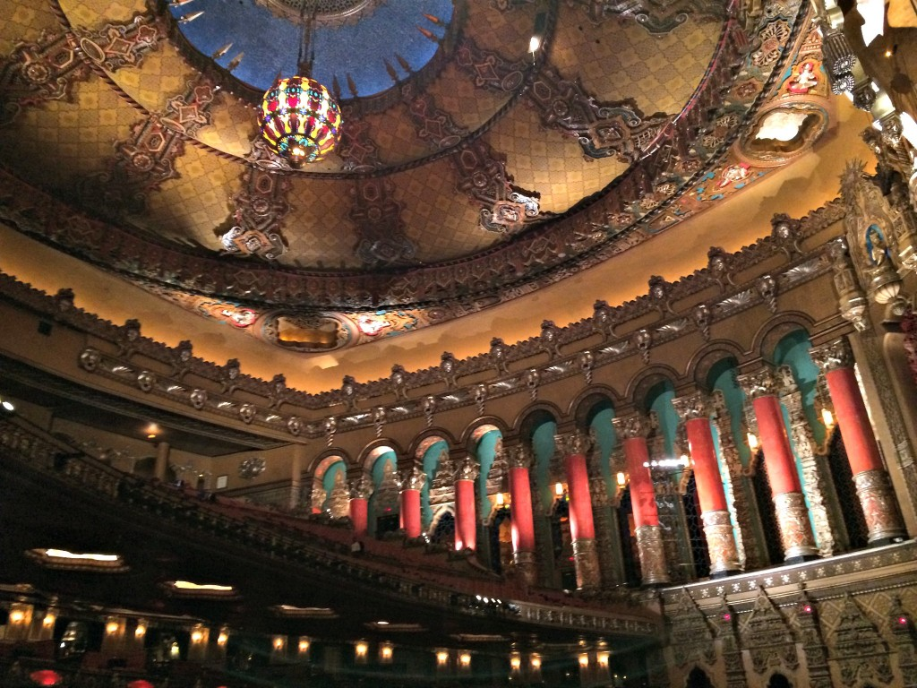Fox Theatre inside details