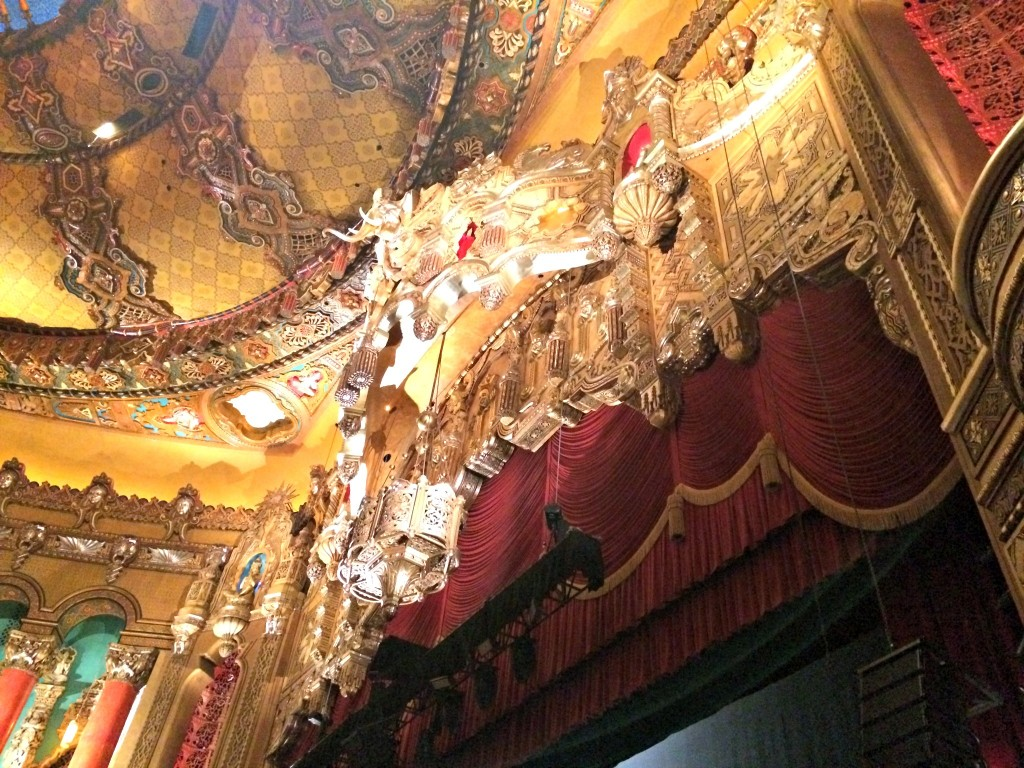 Fox Theatre stage detail