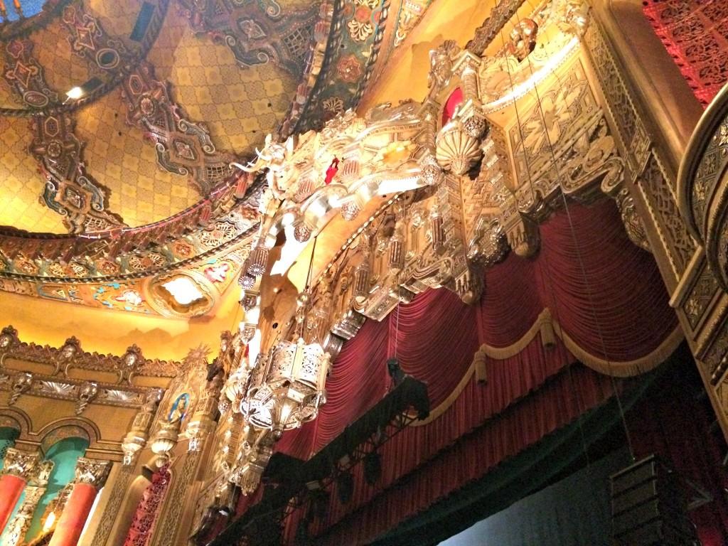 Fox Theatre stage detail