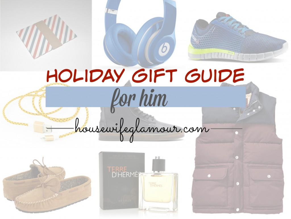 Holiday Gift Guide for Men Housewife Glamour