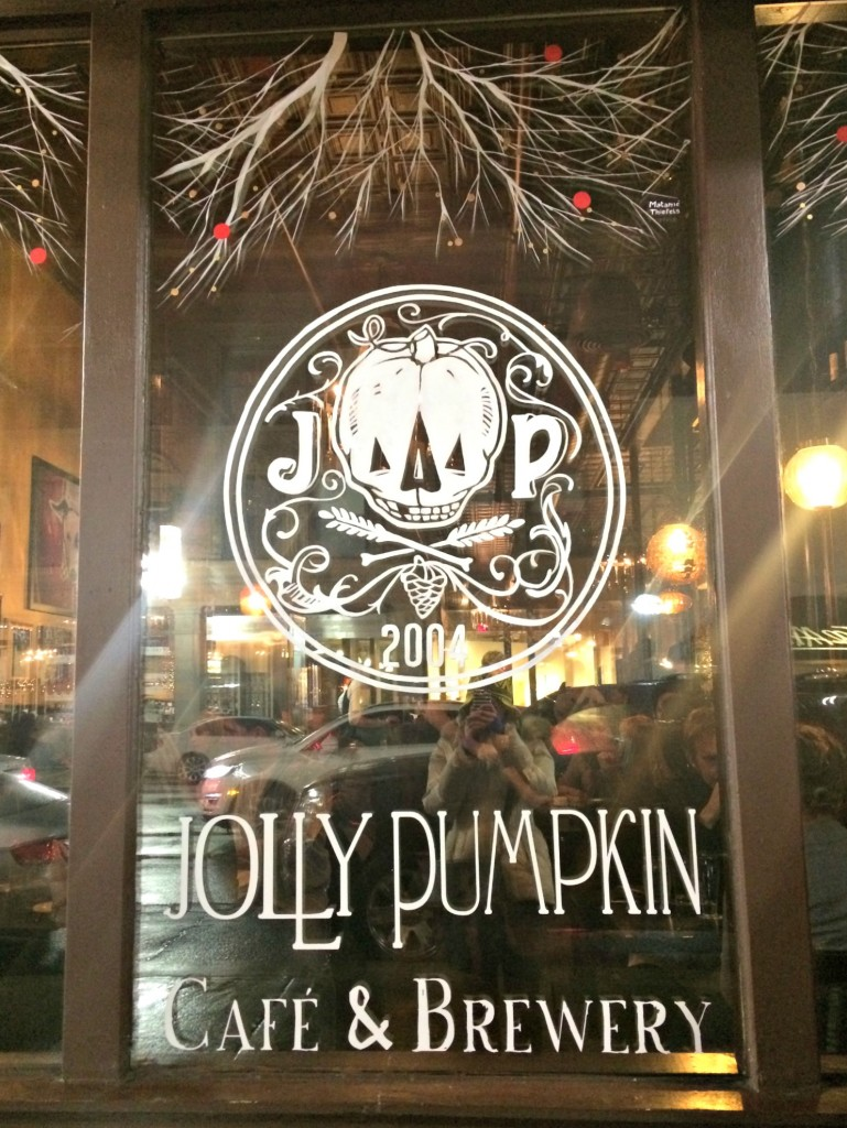 Jolly Pumpkin cafe & brewery ann arbor