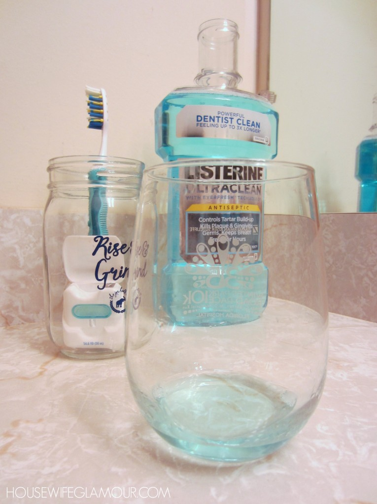 Listerine Ultraclean Antiseptic mouthwash