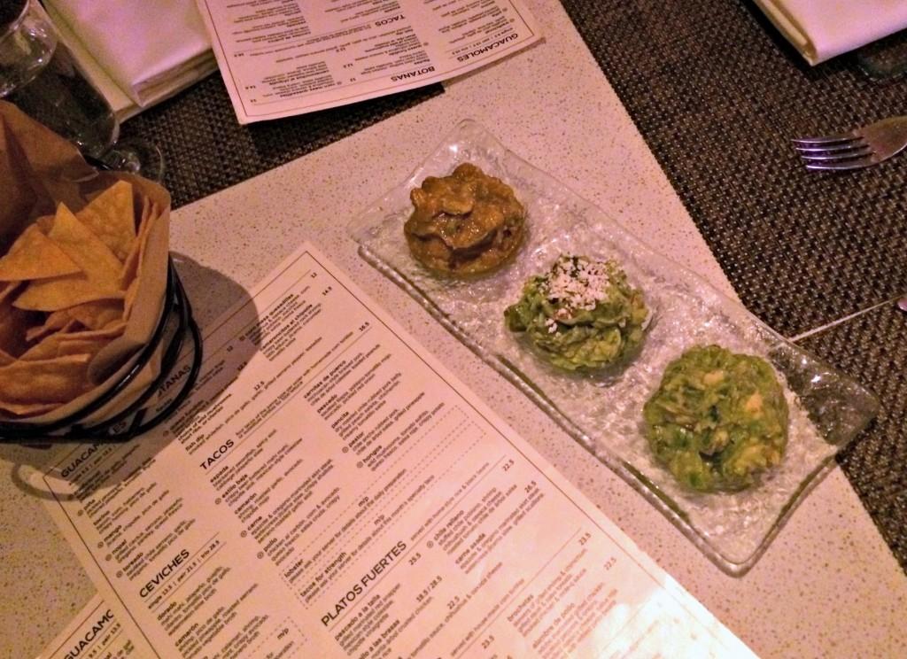 Mercaditos chips and guacamole