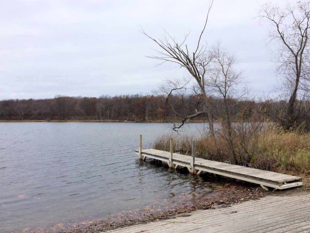 Oakland State Park lake