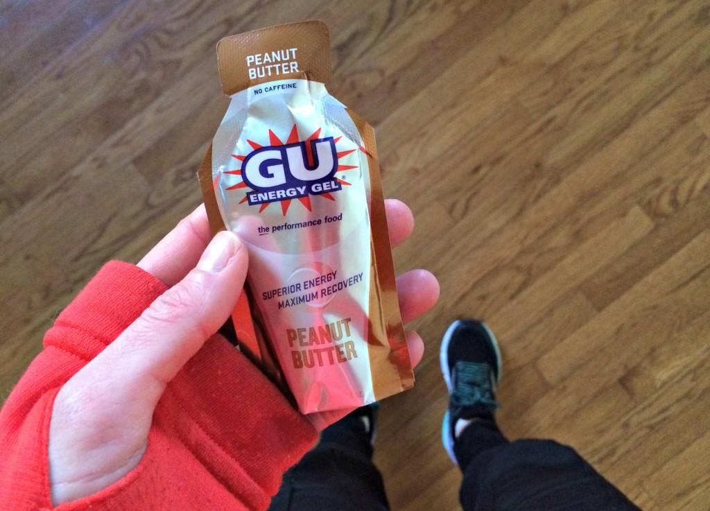 Peanut Butter Gu Energy Gel