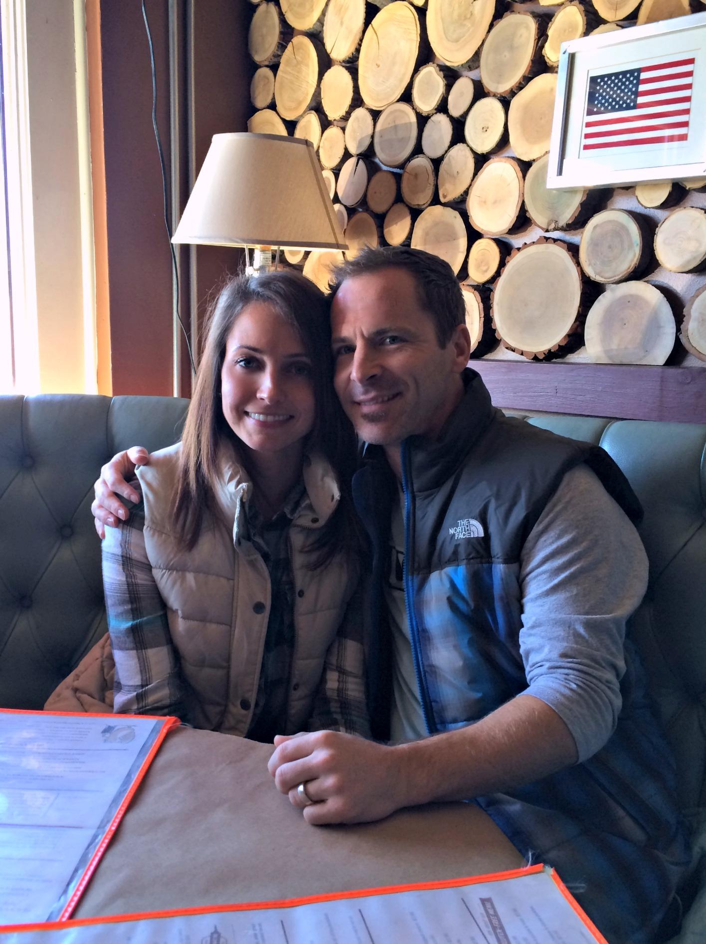 Scott and I at Union Woodshop Clarkston