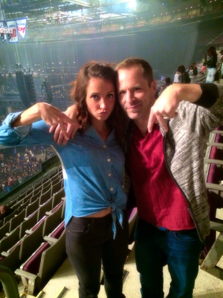 Scott and I at Usher Concert