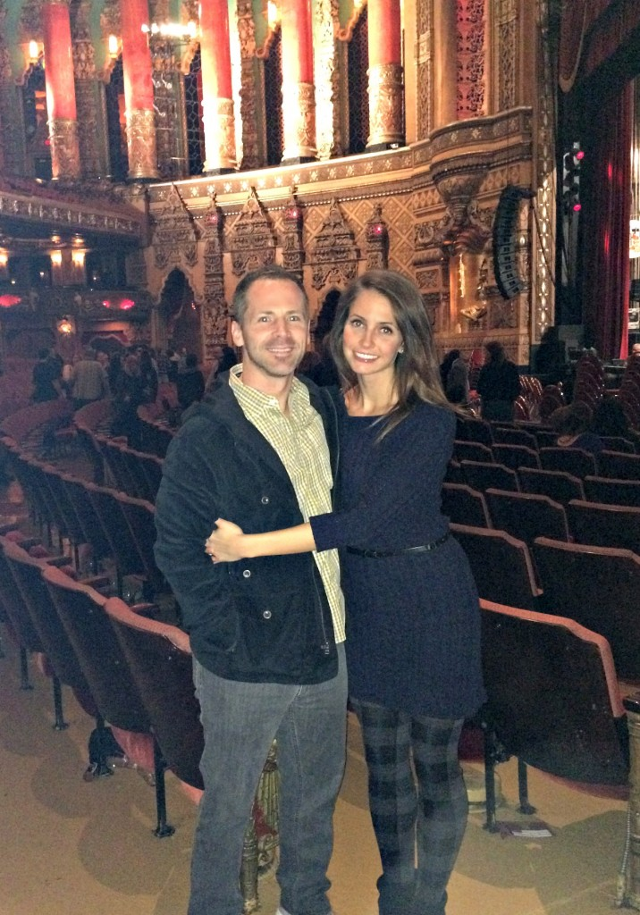 Scott and I at the Fox Theatre
