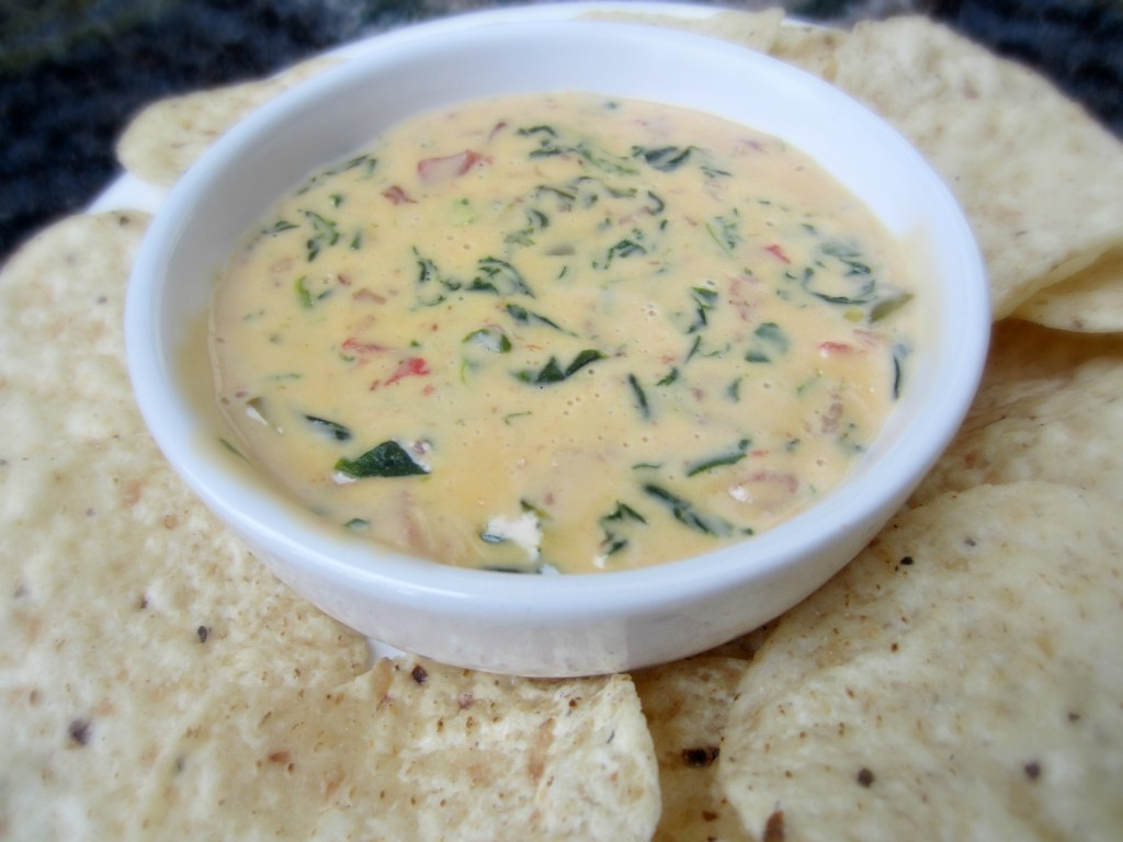 Spicy Queso Spinach Dip